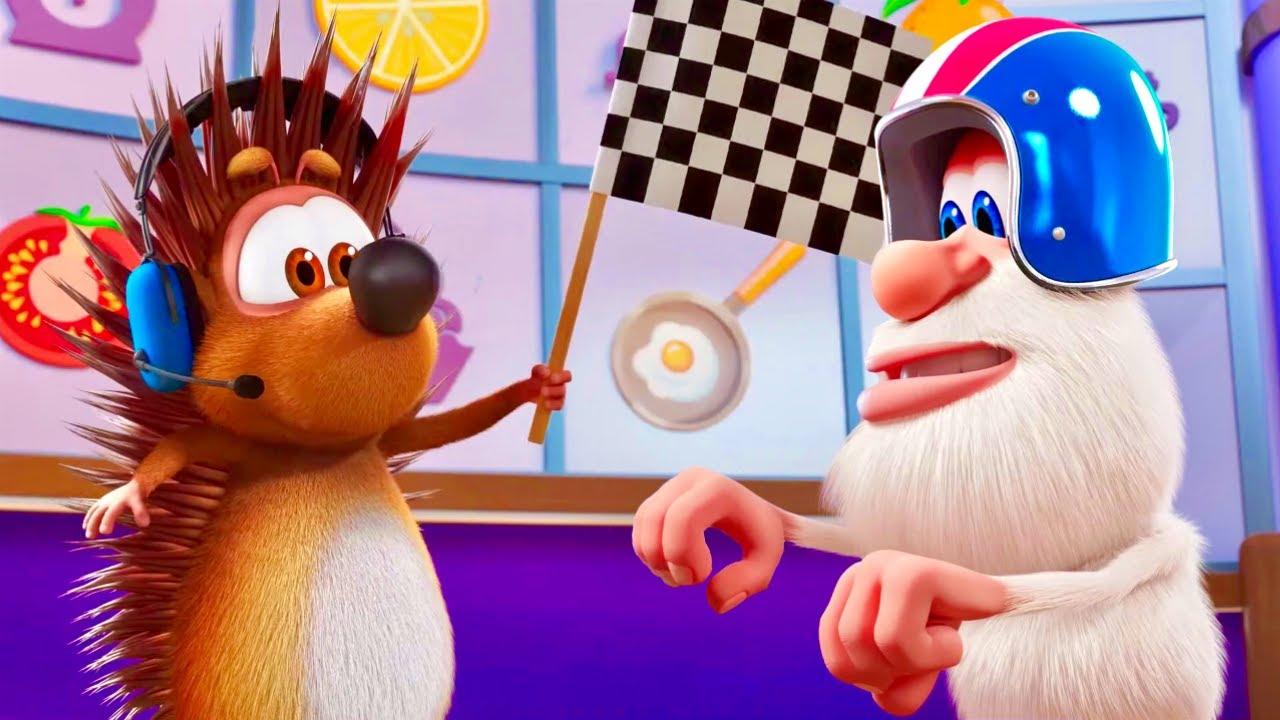 Booba - Food Puzzle: 🌭🚗  Autitos Hot-Dogs 🚗🌭  NUEVO | Dibujos Animados Divertidos para Niños