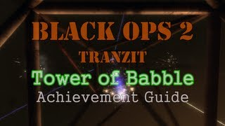 Black Ops 2: 'tower Of Babble' Achievement Guide (richtofen) Can Be Done With Less Than 4 Players!
