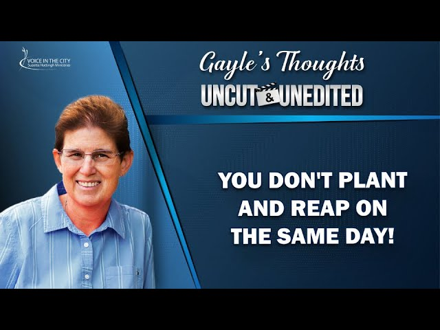 Gayle's Thoughts - Uncut&Unedited