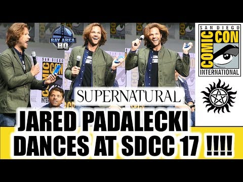 SUPERNATURAL SDCC17 PANEL! JARED PADALECKI DANCES LIKE A FAN in HALL H San Diego Comic Con!!