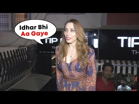 Salman Khan's LADY LOVE Iulia Vantur Spotted At Salon