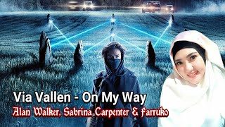 Via Vallen - On My Way Alan Walker ( Special Lyric Video )