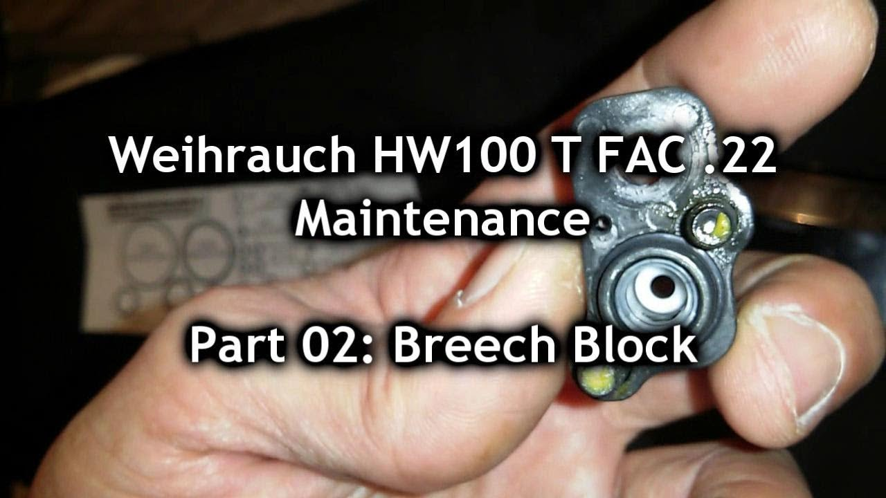 Weihrauch HW100: Adjusting Power – Airgun Shooting and