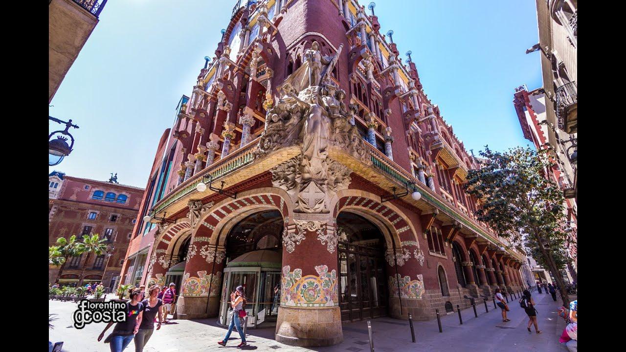 Pal cio da m sica catal barcelona youtube - Casas de musica en barcelona ...