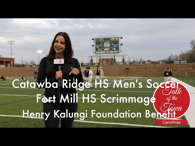 Catawba Ridge HS Soccer supports the Henry Kalungi Foundation