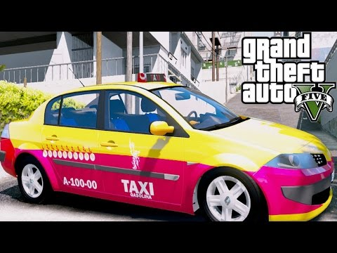 GTA 5 MODS|TAXI CDMX IRON MAN|EdgarFtw