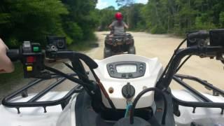 POV Riding an ATV through the Bahamas - Carnival cruise shore excursion