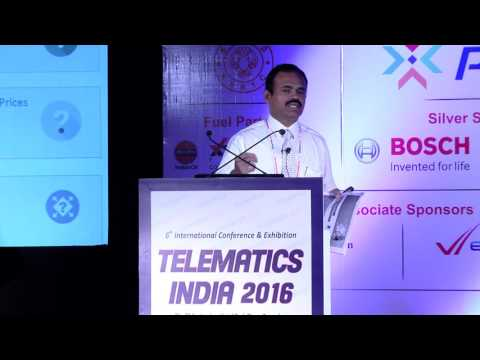 Manoharan Anna Durai, General Manager - Retail Sales, Indian Oil Corp Ltd - Telematics India 2016