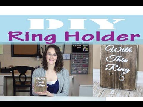 Wooden Ring Holder | #1