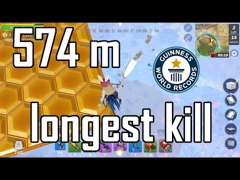 Longest Kill 574m in Creative destruction - WORLD RECORD