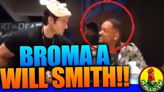 Broma a Will Smith por SUPERMAN | Henry Cavill Scare will Smith at Comic Con 2016