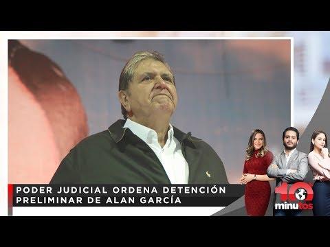 Alan García en estado crítico en hospital Casimiro Ulloa - 10 minutos Edición Matinal