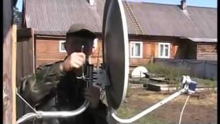видео как настроить спутниковую антенну триколор