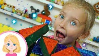 Расслабляющие Slime видео #ГУБКА И КРАСИВЫЙ #БЛЕСК - МАЛЕНЬКАЯ ВЕРА - #АНТИСТРЕСС для детей