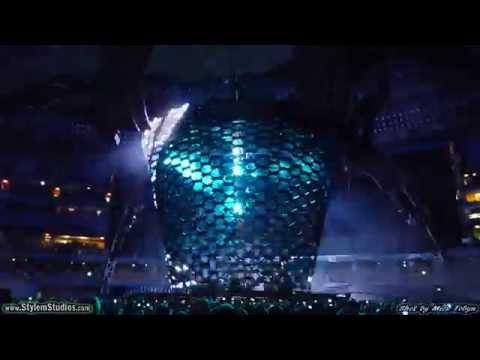 U2 - You Look So Beautiful Tonight & Zooropa - At Rogers Centre, Toronto, July 11th, 2011