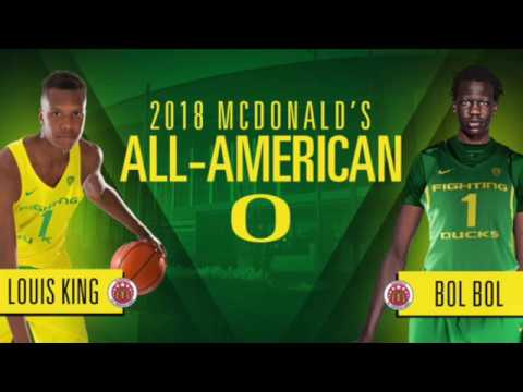 new product 5f92f cb78f 2018-19 Oregon Ducks Basketball Recruiting Class, Bol Bol, Louis King, Will  Richardson, Miles Norris