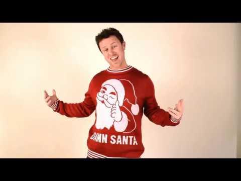 Damn Santa Sweater- Product Details
