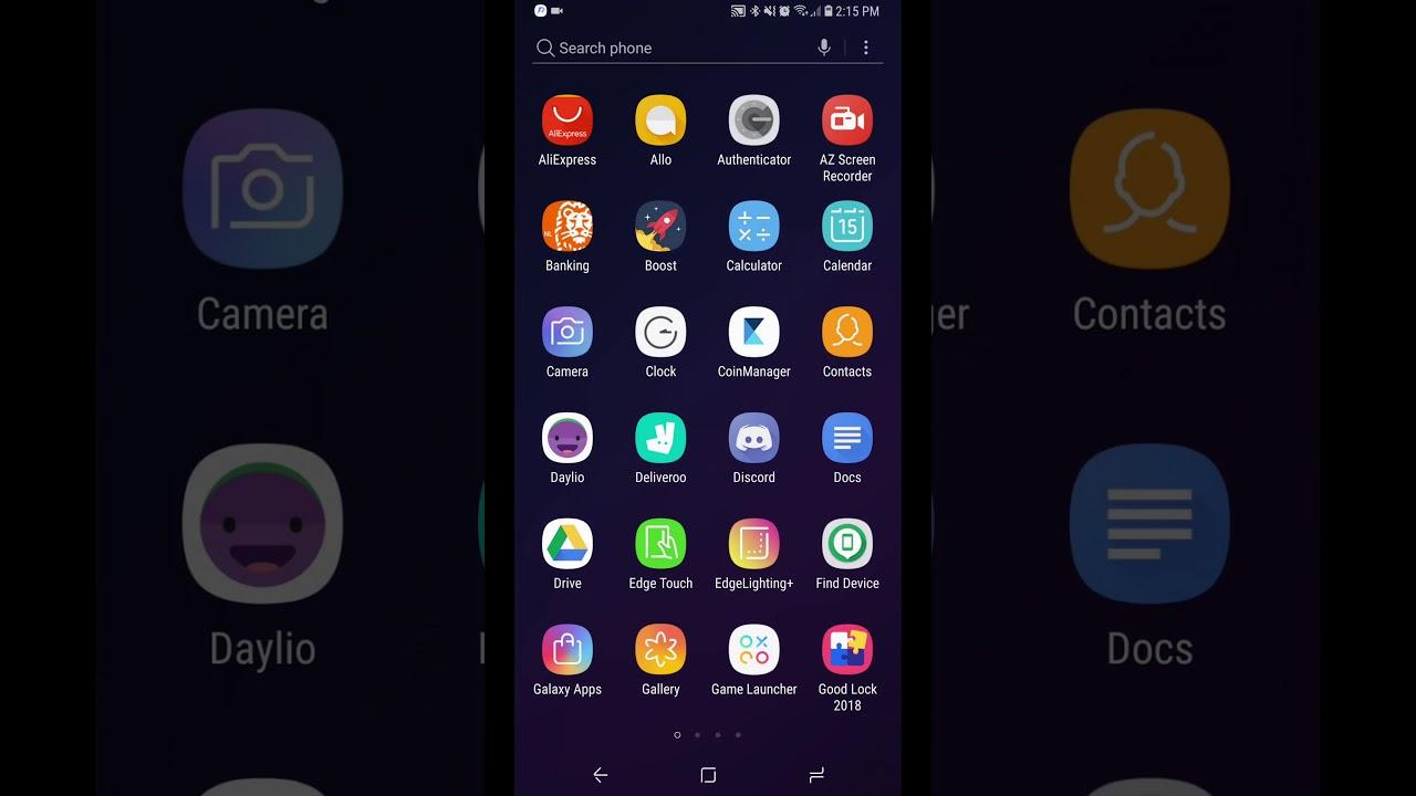 Hướng dẫn cài ứng dụng Good Lock 2018 - thay đổi giao diện cực đẹp