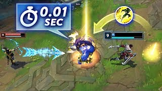 REACT FAST TO SAVE..!! | Best Moments Montage - League of Legends