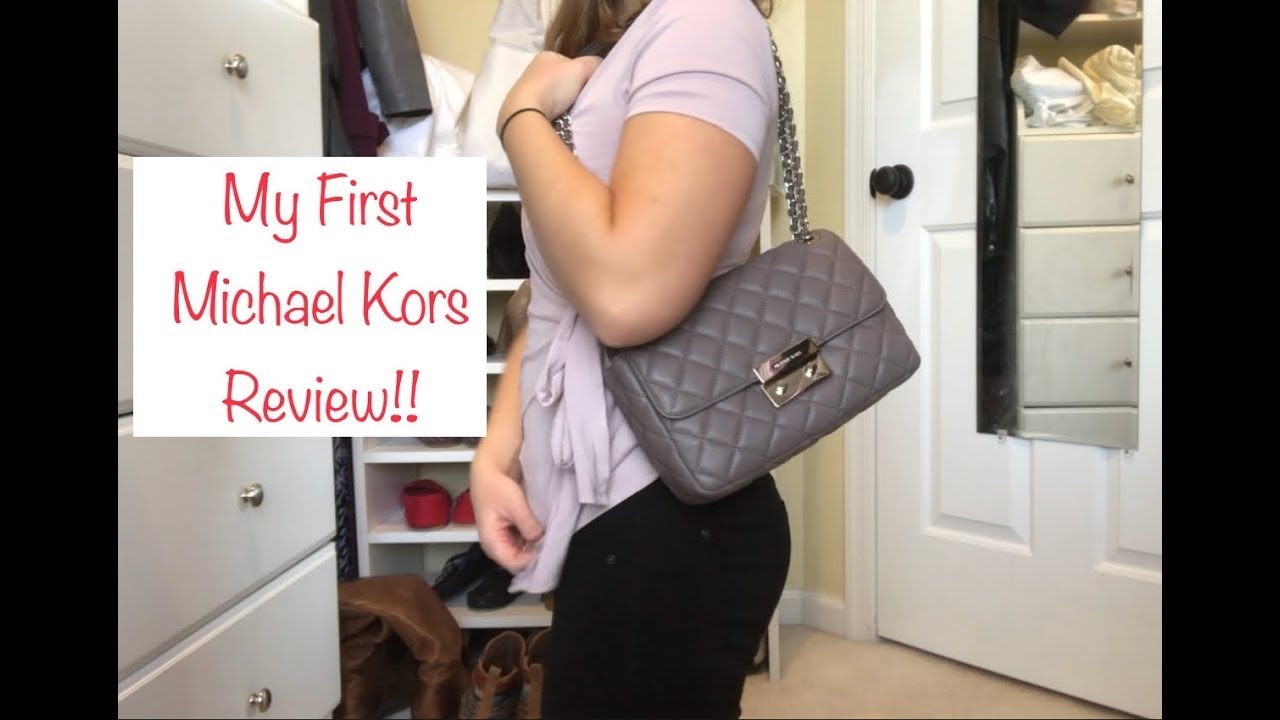 *REVIEW* Michael Kors Large Sloan in Cinder and *WHAT FITS*