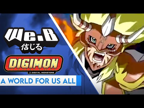 Digimon Frontier OP - A World For Us All | FULL VER. Cover by We.B (feat. Caleb Hyles)