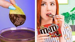 Schaffst Du Dieses Video Ohne Durchzudrehen vor Hunger / 11 Lustige Essbare Streiche!