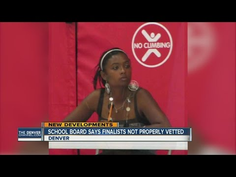 Denver School Board says finalists not properly vetted