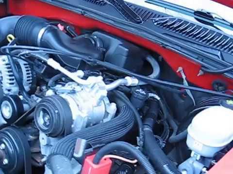 2005 Chevrolet Silverado ECT Engine Coolant Temperature Sensor Location on a GM 4.3 Liter V6 Engine
