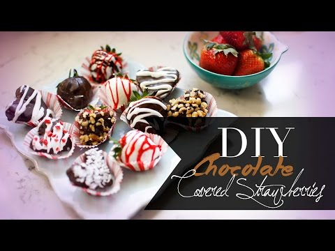 DIY Super Easy Chocolate Covered Heart...