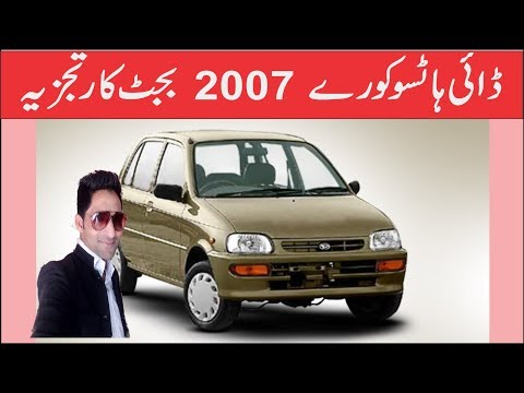 Daihatsu Cuore 2007  Budget Car Review