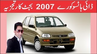 Daihatsu Cuore 2007  Budget Car Review