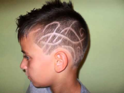 haircut design for kids silviano style 2013 - YouTube