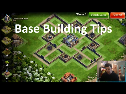 DomiNations - New Discount Event - Build a Base from Scratch - How to Layout