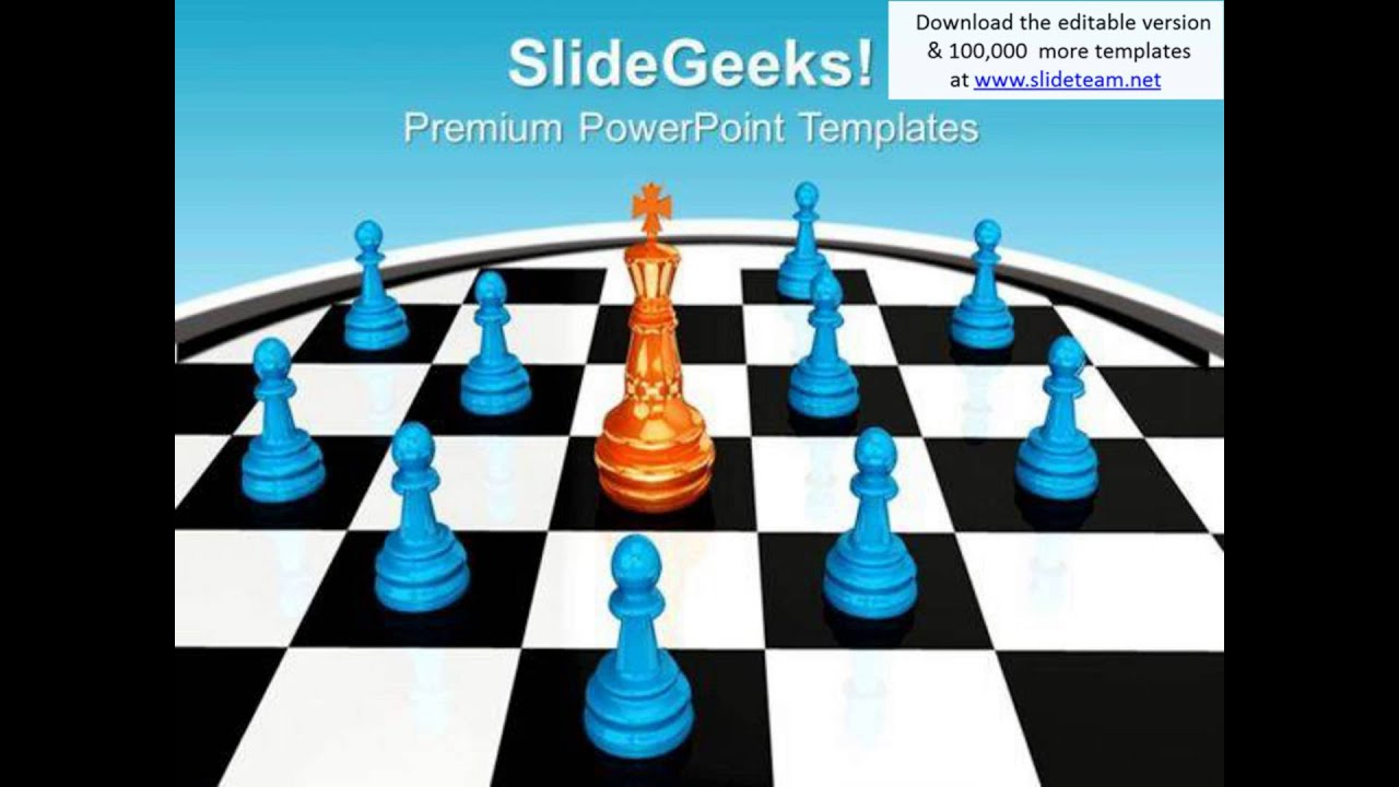 Chess king between pawns leadership powerpoint templates ppt chess king between pawns leadership powerpoint templates ppt backgrounds for slides 0113 pptx alramifo Images