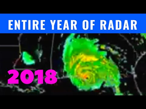 Entire Year Of Weather Radar [2018 U.S. Time Lapse]