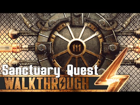 Fallout 4 - Sanctuary Quest Walkthrough (Crafting Guide)
