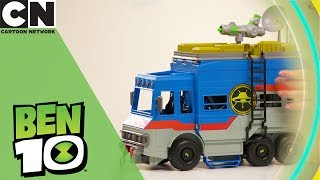 Ben 10 | Rustbucket Playset Toy Unboxing | Cartoon Network | Ad Feature