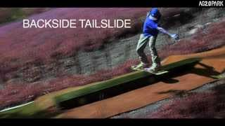 How to Backside tailslide / Tutorial Backside Tailslide / Drypark / Snowboarding