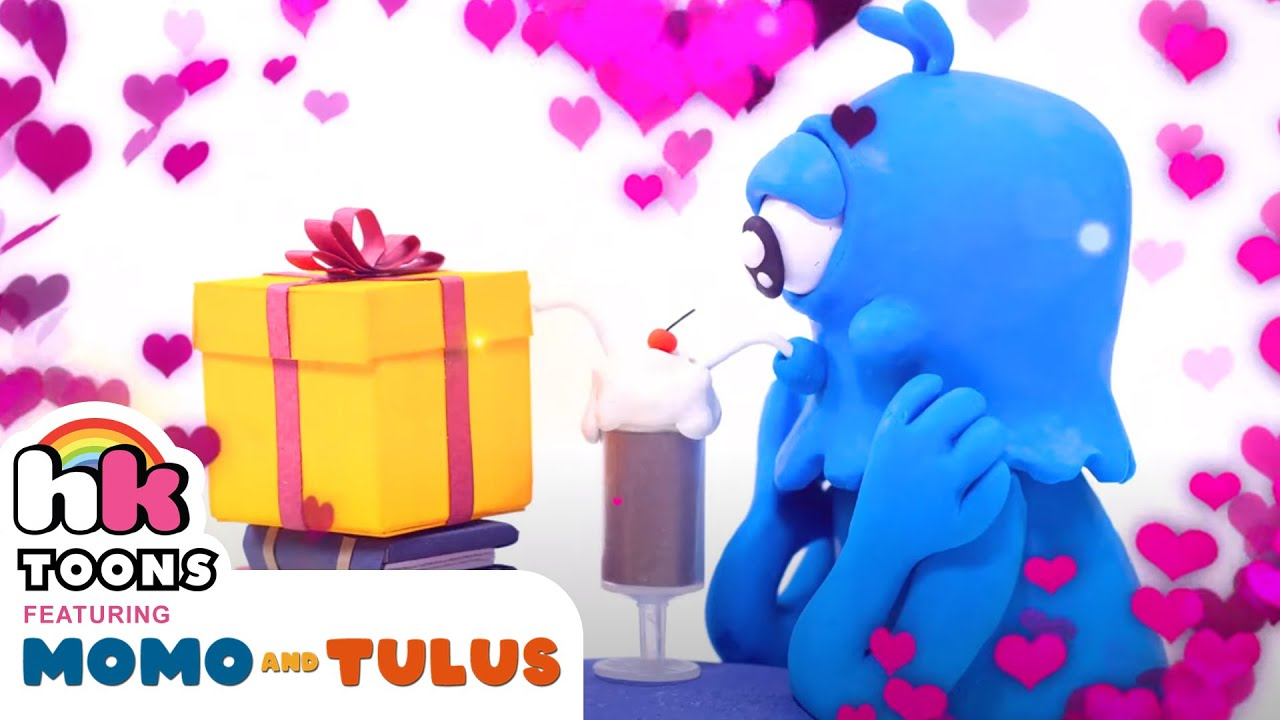 Funny Cartoons   BLIND DATE   Momo & Tulus   HooplaKidz Toons