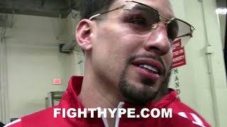 DANNY GARCIA'S FINAL MESSAGE TO HATERS LEAVING ARENA AFTER RIOS KNOCKOUT: