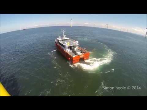 Gwynt-y-Mor Crew Transfer Vessel 2014