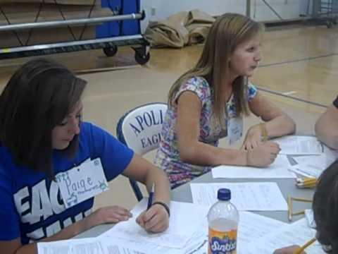 Kick-Off Program: Apollo High School (KY) Kick-Off Mentor Training