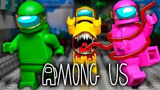 LEGO Мультфильм Among Us 3 - Реванш на MIRA HQ / Предатель среди нас / Stop Motion, Animation