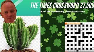 World's Best Crossword Solver Vs Monster Puzzle