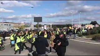 Gilets jaunes : 80 manifestants à Plan-de-Campagne