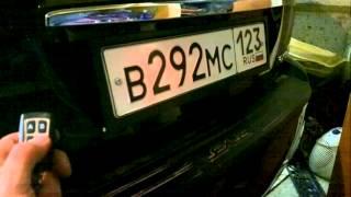 видео Купить Авторамка ( рамка ) VS для номера камуфлированная реактив 1 штука белая (4401983)