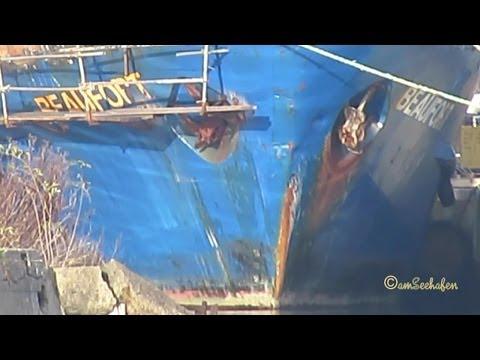 BEAUFORT DBDC IMO  8895097 gets wellness in dockyard Emden Germany