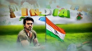 ram charan photo picsart editing independence day 2018 special picture | ARM EDITINGS