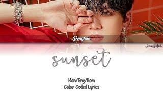 Kim Donghan  김동한  – Sunset  Color Coded Han rom eng