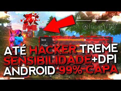SAIU!! NOVA SENSIBILIDADE PARA SUBIR 99% CAPA!! ESTILO HACKER!! TODOS OS ANDROID!! FREE FIRE